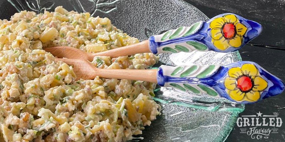 Salade voor bij de BBQ